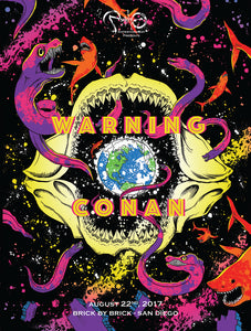 """Warning & Conan"" Poster"
