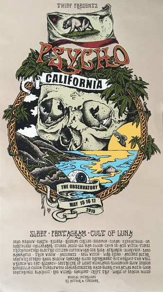 """Psycho California 2015"" Poster"