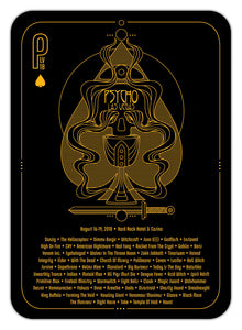 "Psycho Las Vegas 2018 ""Playing Card"" - POSTER"