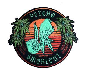 """Psycho Smokeout"" Back Patch"