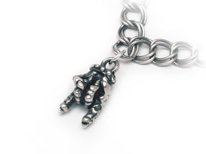 """Horns Up"" STERLING SILVER CHARM"