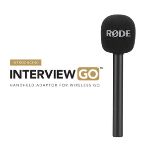 RODE ADAPTADOR DE MANO INTERVIEW GO  PARA WIRELES GO