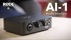 INTERFACE DE AUDIO RODE AI-1