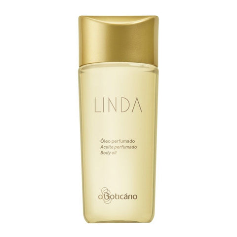 O Boticario LINDA Scented Body Oil - 150ml/5.1oz - Bom Dia Beauty