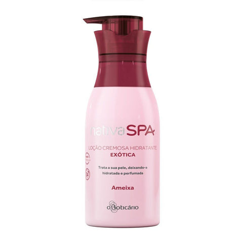 O Boticario Nativa SPA Moisturizing Body Lotion - Plum - 400ml/13.5oz - Bom Dia Beauty