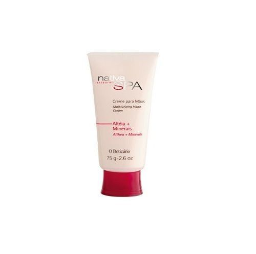 O Boticario Nativa SPA Moisturizing Hand Cream - Marshmallow & Minerals - 75g/2.6oz - Bom Dia Beauty