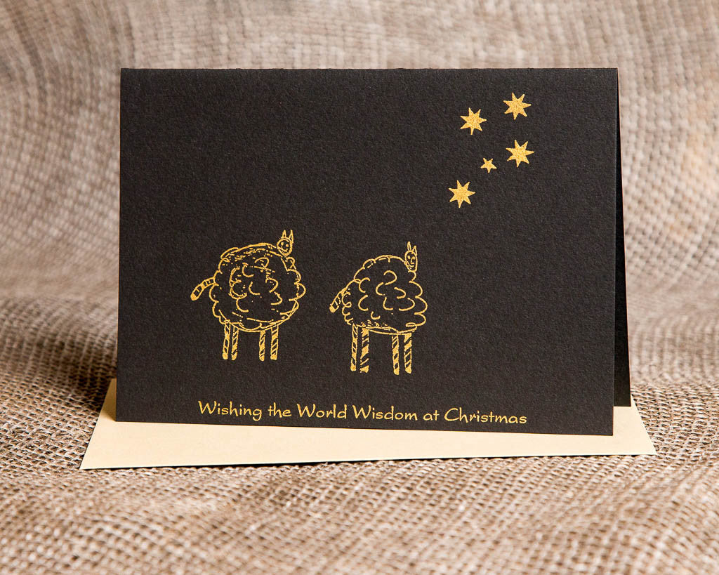 Christmas - Wise sheep