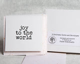 Christmas words boxed set