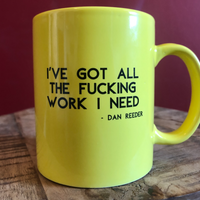 Dan Reeder Coffee Mug - OH BOY RECORDS