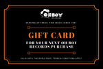 Oh Boy! A Gift Card - OH BOY RECORDS
