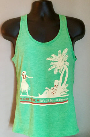 Let's Talk Dirty In Hawaiian Unisex Tank Tops