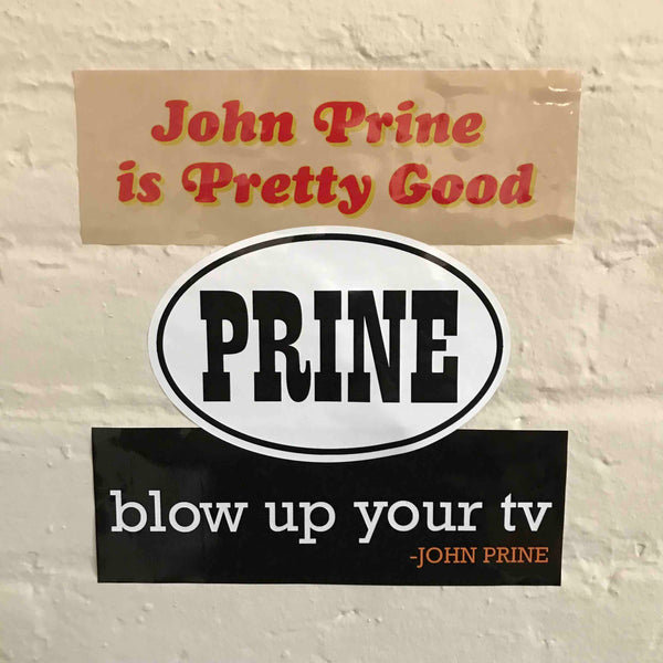 John Prine Sticker Pack - OH BOY RECORDS