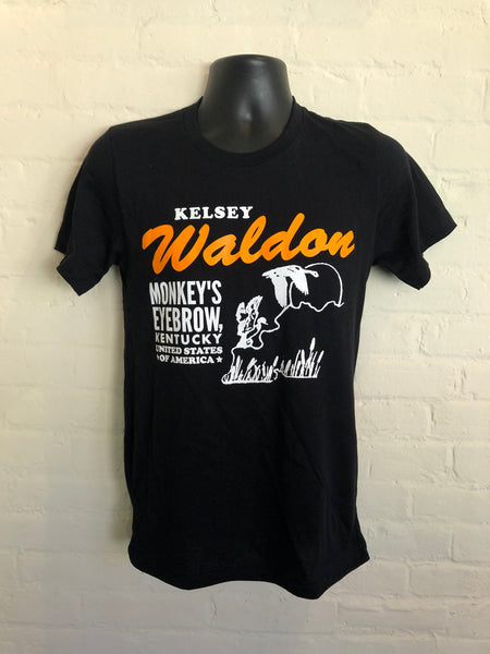 Kelsey Waldon Monkey's Eyebrow T-Shirt - OH BOY RECORDS - OH BOY RECORDS
