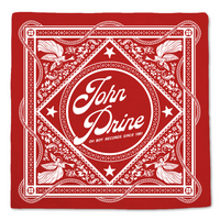 John Prine Bandana - OH BOY RECORDS