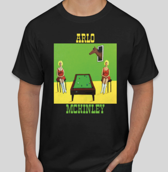Arlo McKinley T-Shirt - OH BOY RECORDS