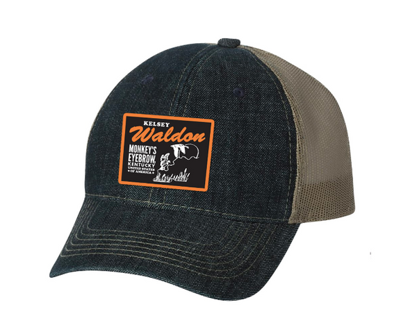 Kelsey Waldon Monkey's Eyebrow Trucker Hat - OH BOY RECORDS