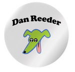 Dan Reeder Happy Dog Sticker Pack - OH BOY RECORDS