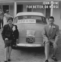 Pre-Sale John Prine - For Better, Or Worse LP - Backorder - OH BOY RECORDS