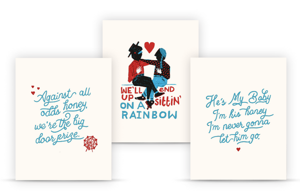 In Spite of Ourselves Lyrics Prints