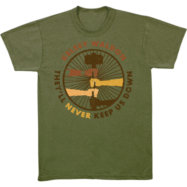 Kelsey Waldon - They'll Never Keep Us Down T-Shirt
