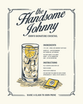 Handsome Johnny Print - Oh Boy Records