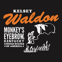 Kelsey Waldon Monkey's Eyebrow Coozie - OH BOY RECORDS