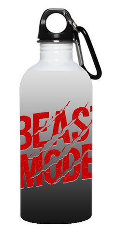 """Beast Mode"" Stainless Steel Water Bottle"