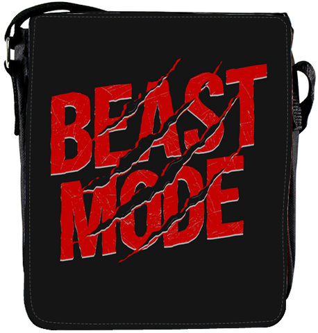 """Beast Mode"" Medium Shoulder Bag"