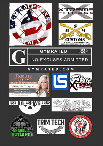 "Bryan ""The Beast"" Cromer MMA Fighter Youth Tops by GYMRATED™"