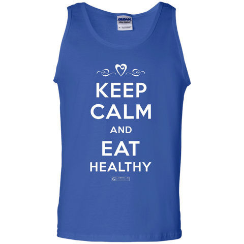"""Keep Calm And Eat Healthy"" Men's Tees & Tanks"