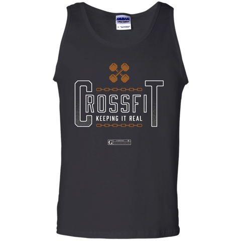 """Crossfit Keeping It Real"" Men's Tees & Tanks"