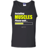 "Image of ""Installing Muscles Please Wait"" Men's Tees & Tanks"