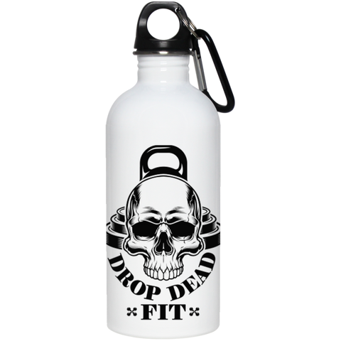 """Drop Dead Fit"" Stainless Steel Water Bottle"