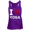 "Image of ""I Love Yoga"" Ladies Tees & Tanks"