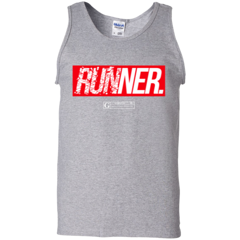 """Runner"" Men's Tees & Tanks"