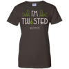"Image of ""I'm Twisted"" Ladies Tees & Tanks"