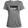 "Image of ""Running Mom"" Ladies Dri-Fit Moisture-Wicking Tee"