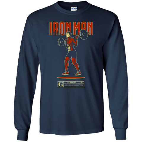"""Iron Man"" Men's Long Sleeve Tees & Hoodies"