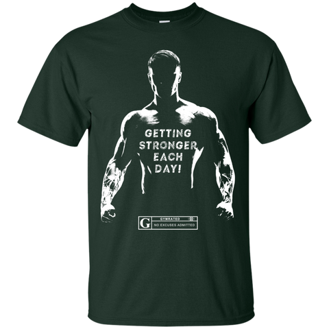 """Getting Stronger Each Day"" Men's Tees & Tanks"
