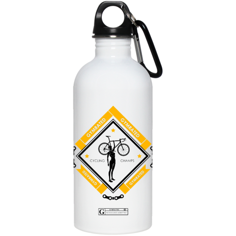"""Cycling Champs"" Stainless Steel Water Bottle"