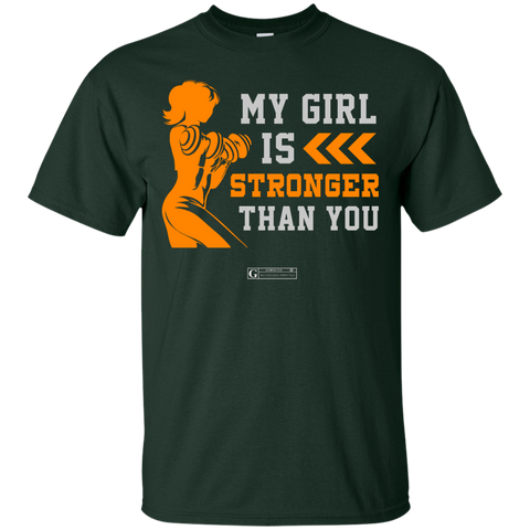 """My Girl Is Stronger Than You"" Men's Tees & Tanks"