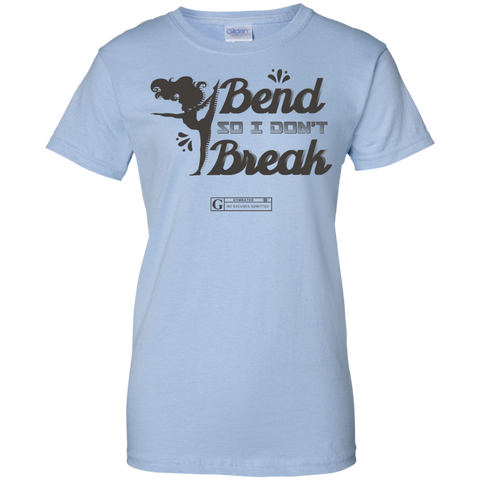 """I Bend So I Don't Break"" Ladies Tees & Tanks"
