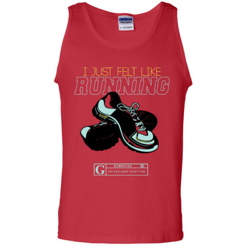 """I Just Felt Like Running"" Men's Tees & Tanks"