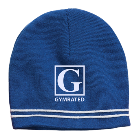 Official GYMRATED™ Brand Colorblock Beanie