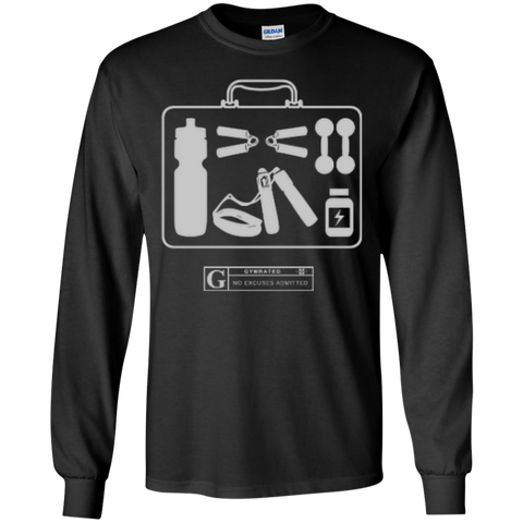 """Fitness Kit"" Men's Long Sleeve Tees & Hoodies"