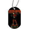 """Iron Man"" Dog Tags"