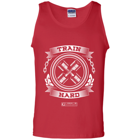 """GYMRATED Train Hard"" Men's Tees & Tanks"