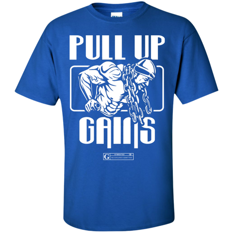 """Pull Up Gains"" Men's Tees & Tanks"