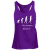 "Image of ""Evolution of Yoga"" Ladies Tees & Tanks"