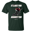 "Image of ""It's Just You Against You"" Men's Tees & Tanks"